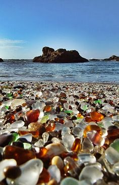 Glass Beach, California! The drive was long to get here but glad I made the trip! Oct 2015!