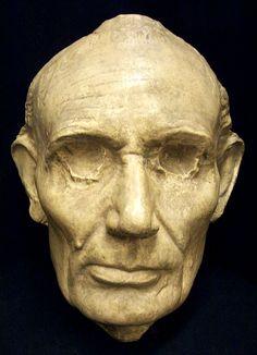 Civil War Death Masks | Lincoln Death Mask