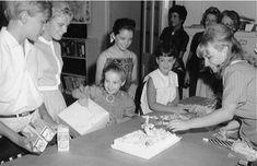 Celebrating (Kym Karath ) birthday during the Sound of music