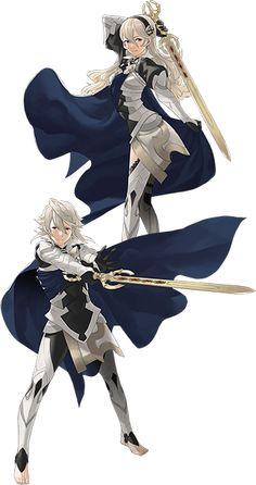 Character Concept, Character Art, Character Design, Art Manga, Manga Drawing, Fire Emblem Fates Characters, Fire Emblem Fates Corrin, Female Corrin, Fire Emblem Warriors