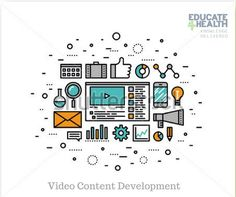 Engaging video content development services. Video content is by far the most popular type of content online. Although creating engaging video content for health and medical care yield excellent ROI it requires a rare mix of skills and experience. Educate4Health (www.educate4health.com) provide such expertise at very affordable prices visit our website to see how we can help you grab your target audiences' attention.
