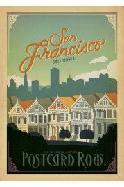 San Francisco - Postcard Row
