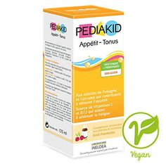 Pediakid Appetite-Weight Gain Stimulant Fortified with Vitamin C & Metabolism Supplements, Calcium Supplements, Iron Vitamin, Gain Weight Fast, Increase Appetite, Liquid Vitamins, Adrenal Support, Vitamins For Kids, Superfood Powder