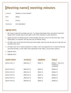 Meeting Minutes Free Template 18 Free Receptionist Resume Templates  Printable Word & Pdf .
