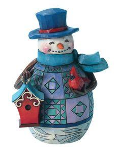 Jim Shore collection snowman figurine - love this little guy!
