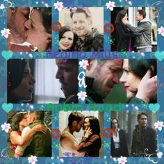 Awesome Regina and Robin awesome OutlawQueen in an awesome collage