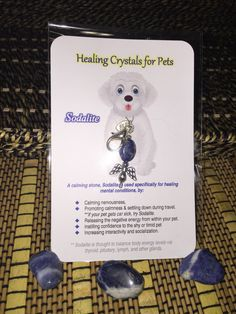 Healing Crystal's for Pets - Sodalite