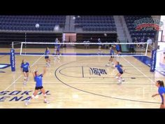 "Need to sharpen your team's ball handling skills? Kirsten Bernthal Booth, coach at Creighton University, shares high-low pepper, one way pepper, and well pepper drills from her video, ""Skill Development Drills: Ball Control""."