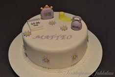 Vauvakakku Baby Shower, Cake, Desserts, Food, Babyshower, Tailgate Desserts, Deserts, Kuchen, Essen