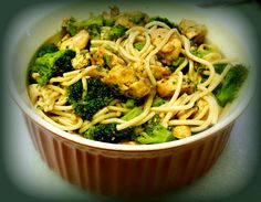 Chicken Broccoli and Noodle Stir-Fry