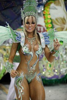 Soap Opera actress at rio Carnival. Really amazing.
