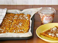 Juustoinen porkkana-kaurapeltileipä - Keiju - Keiju Chili, French Toast, Soup, Breakfast, Anna, Morning Coffee, Chile, Chilis, Soups