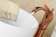 $113.05 | Buy Free shipping rose Gold finish Single hole bathroom basin Lavatory sink Swan Tall faucet Deck mounted from Reliable faucet drain suppliers on Classic Faucet Store Lavatory Sink, Bathroom Basin, Shower Set, Swan, Home Improvement, Bathtub, Deck, Home And Garden, Home Appliances