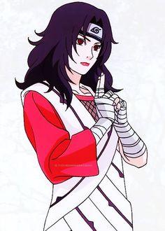 Kurenai Yūhi, wife of Azuma Sarutobi & mother of Mirai Sarutobi Naruto Shippuden Sasuke, Anime Naruto, Naruto Fan Art, Kakashi Sensei, Naruto Sasuke Sakura, Sarada Uchiha, Manga Anime, Sakura Haruno, Hinata