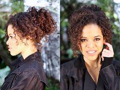 Vocês já repararam o quanto é difícil achar penteados para as cacheadas? Sempre que vejo um penteado bonito por aí, ele foi feito especificamente para cabelo liso ou ondulado, aí eu já desisto. Mas calma, se você também é cacheada e passa por esse dilema, a Rayza Nicácio vai te ajudar. Pra quem não conhece-a, ela tem um canal no...