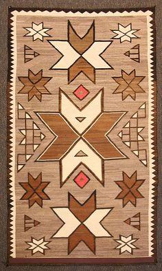 Navajo Crystal Rug with Valero Stars Navajo Weaving, Navajo Rugs, Rugs On Carpet, Carpets, Native American Rugs, Vintage Blanket, Chart Design, Modern Rugs, Geometric Art