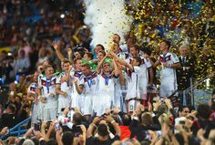 This is the fourth World Cup title for Germany.   Germany Wins The 2014 World Cup After A Goal By Mario Götze