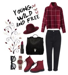 """""""YOUNG WILD & FREE"""" by yasimaryam on Polyvore featuring Topshop, Fallenbrokenstreet, Proenza Schouler, Retrò, Anne Klein, StreetStyle, StreetChic and yasimryam"""
