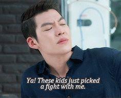 Kim Woo Bin - The Heirs; hahaha, such a funny scene. xD