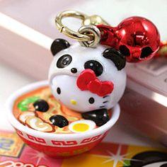 HELLOKITTY :  神戸中華街ラーメンパンダのご当地キティ