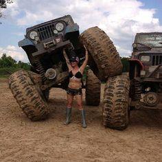 .Jeep Girl !