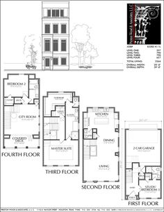 Townhouse Plan E2282 A1.1