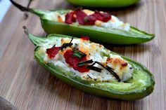 Goat cheese stuffed jalapeno poppers are a perfect appetizer for a wedding reception. #wedding #Mexican