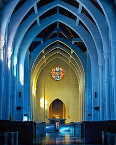 Monastery of the Holy Spirit, Conyers, Georgia Sacred Architecture, Religious Architecture, Catholic Religion, Catholic Churches, Modern Church, Saints And Sinners, Church Interior, Our Town, Cathedral Church