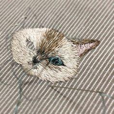 Милая вышивка от Mayuka Morimoto Oyanagi: beaumo3