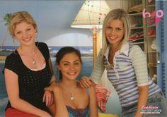 Cariba Heine, Phoebe Tonkin & Claire Holt