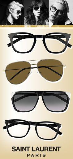 Saint Laurent Exemplifies Vintage Edge: http://eyecessorizeblog.com/?p=5963