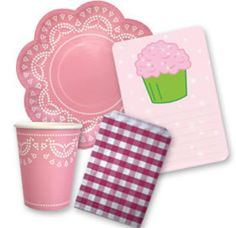 cupcake party starter pack from invite me