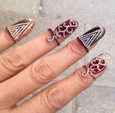 Nail rings by Djula jewellery ~Instagram