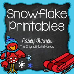 FREEBIE! Beat the the winter blues with these fun printables. Two spin & graph activities for second and third grade students and a odd/even practice page. Check out my other winter math activities: January Math PrintablesMath Sorts for WinterWinter Graphing Freebie {Bar Graph, Line Plot}