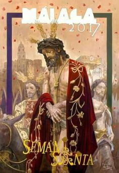 Cartel de la Semana Santa de Málaga de 2017