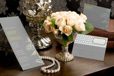 Honey Blossoms - Tea-length Wedding Invitation by MagnetStreet