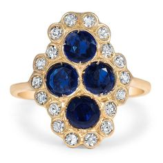 18K Yellow Gold The Odala Ring from Brilliant Earth