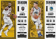 cf41d91b457 2017 2018 Panini Contenders NBA Basketball Series Complete Mint Basic 100  Card Veteran Players Set with Lebron James Stephen Curry Kevin Durant and