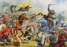 Polish Winged-Hussars drive the Ottoman Army back from Vienna 1683 ~ Technically…