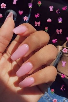 50 Glittering Acrylic Nails for Medium-Length Nails and Long Nails - The First-Hand Fashion News for Females Acrylic Nail Designs, Acrylic Nails, Gel Nails, Matte Nails, Manicures, French Nails, Nailart, Pink Manicure, Pink Nail