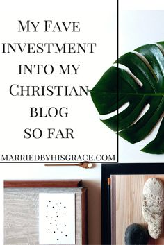 My Fave Investment into My Christian Blog So Far. A Christian Blogging Book that showed me everything I needed to know. MarriedbyHisGrace.com