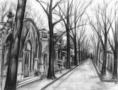 Montmartre Cemetery by vampirepig on DeviantArt