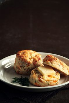 Cheddar Dill Biscuits by pastryaffair, via Flickr