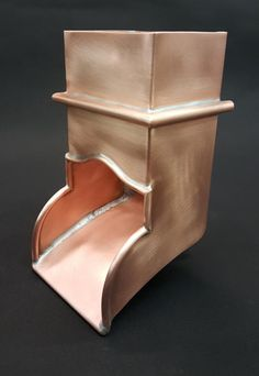 Custom Copper Downspout Elbows - Boots - Spillers - Spitters