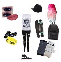 """""""Free time"""" by legobrickz ❤ liked on Polyvore featuring Miss Selfridge, Vans, She's So and PB 0110"""