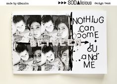 Today& post is very special, it& the last one with SODAlicous . Unfourtunately SODAlicous is saying goodbye and I feel sad b. Scrapbook Albums, Scrapbooking, Feeling Sad, Art Journals, My Works, Journalling, Layouts, Mixed Media, Cards