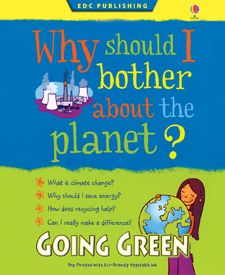 Going Green Kid Kit: A recycling activity for the whole family. Includes: Why should I bother about the planet? Book and materials needed to make your own recycled art paper.