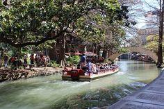 River walk in San Antonio, TX