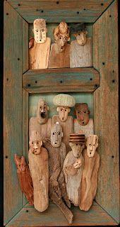 drift wood people.