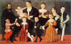 Giovanni Antonio Fasolo (Italian painter, 1530-1572) Valmarana Family c 1553